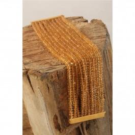 Citrine Beads Party Bracelet