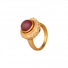 Supreme Flawless Ruby Enamel Ring
