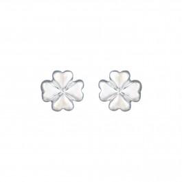 Floral Petal Stud Earrings