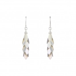 Petal Cluster Drop Earrings