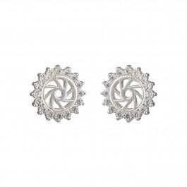 Rays of Sun Stud Earrings