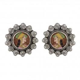 Rajasthani Silver Studs