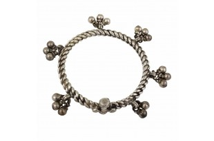 Ghungroo Silver Anklet