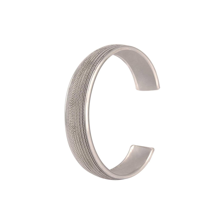 Simple Handwoven Cuff Bracelet
