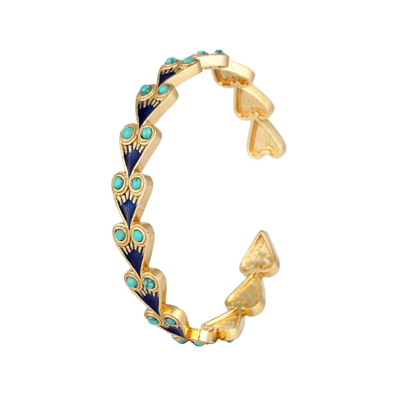 Nefertiti Floral Egyptian Bracelet