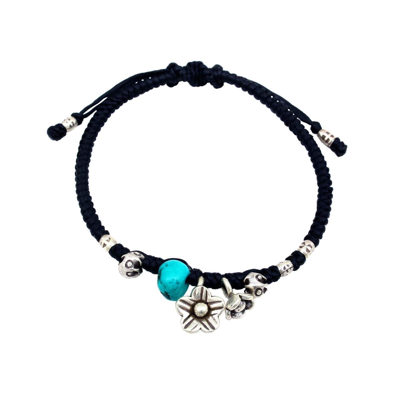 The Blue Floral Bracelet