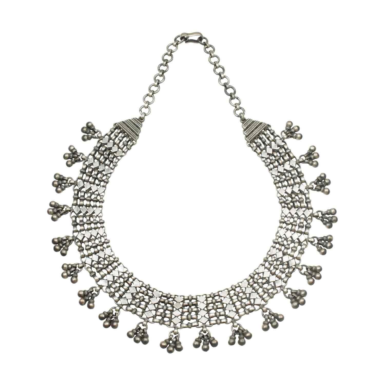Silver Andaz Short Necklace
