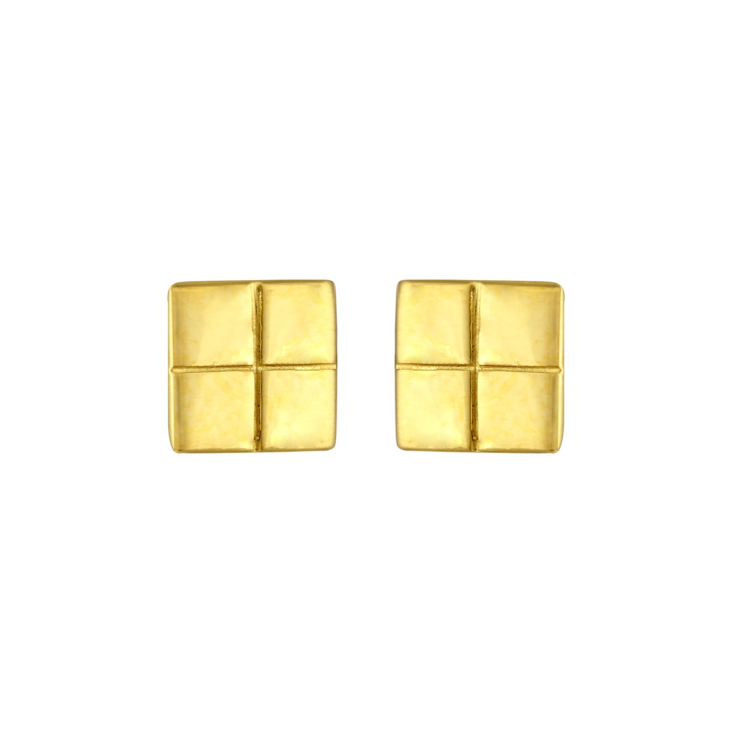 Checkered Squares Studs