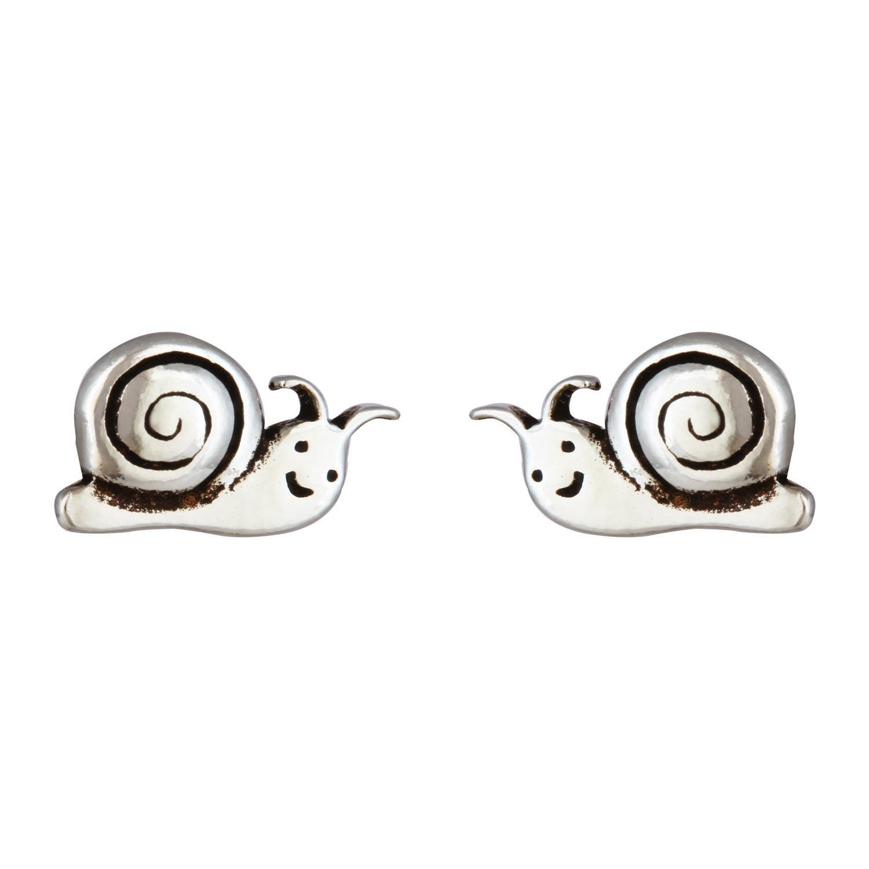Snoopy Snail Studs