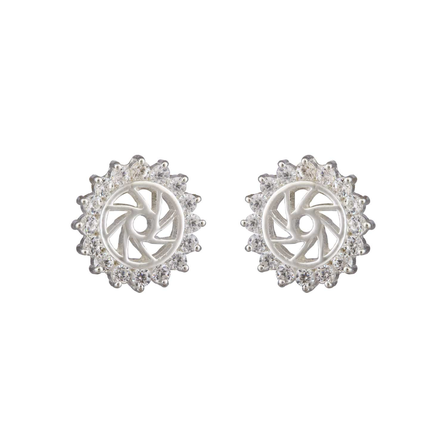 Rays of Sun Stud Earrings