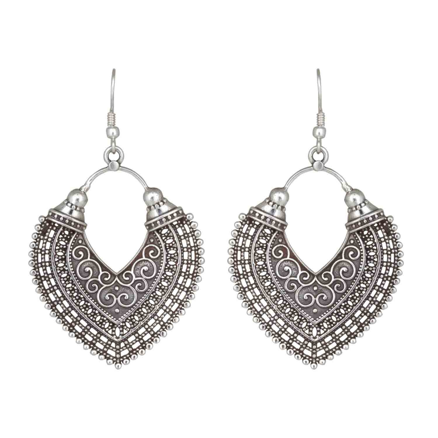 Mathura Silver Earrings