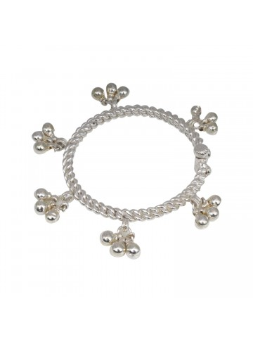 Adorable Two Tone Baby/Children Bell Anklet