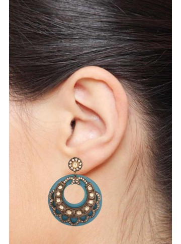 Bold Bakelite Drop Earrings