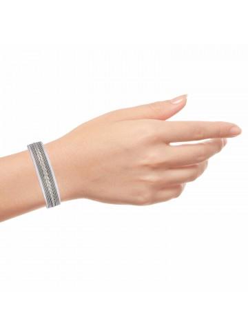 Twisted Skinny Cuff Bracelet