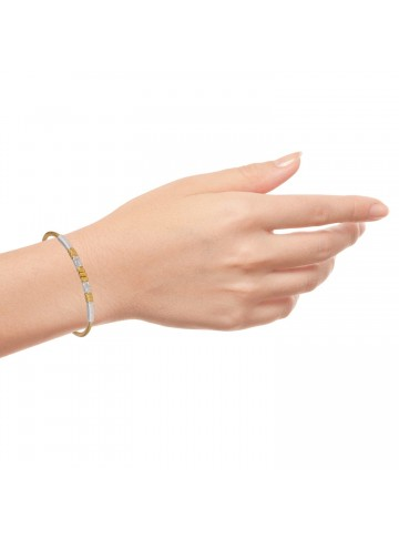 Simplicity Silver Bangle
