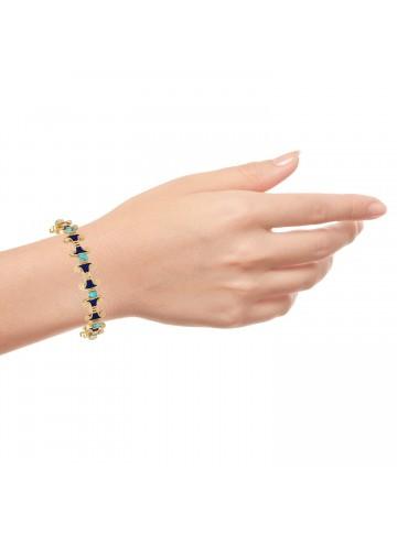 Turquoise Egyptian Inspired Bracelet
