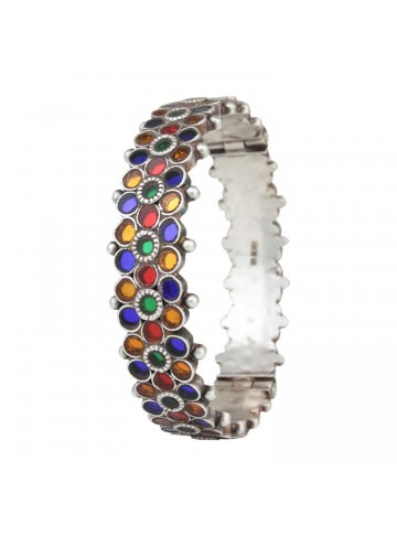 Multi-Colored Glads Kada Bangle