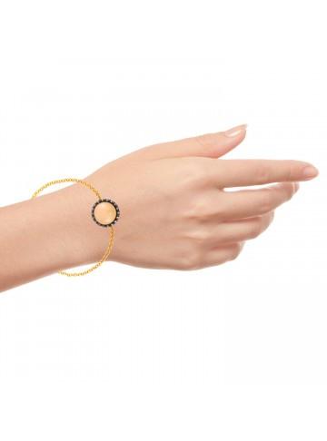 Rose Zircon Bracelet