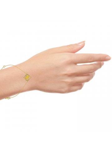 Yellow Love Simple Bracelet