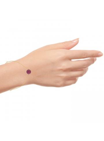 Ruby Golden Bracelet