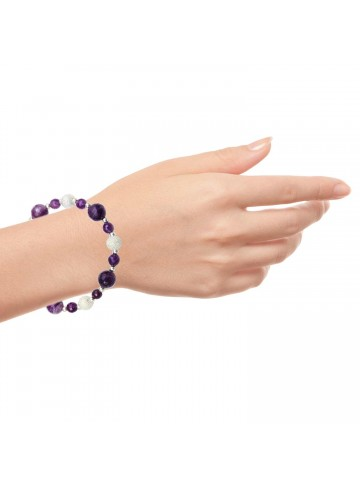 Purple Love Amethyst Bracelet
