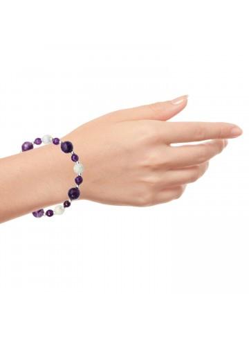 Purple Love Amethyst Bracelet
