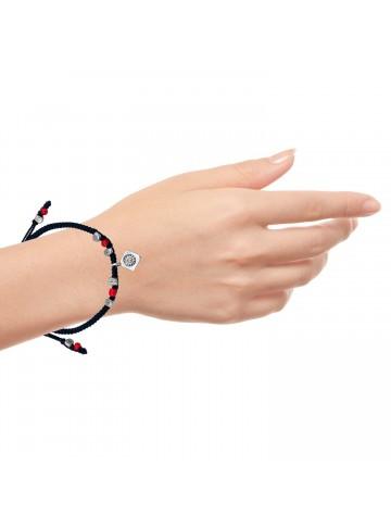Carnelian Square Bead Bracelet