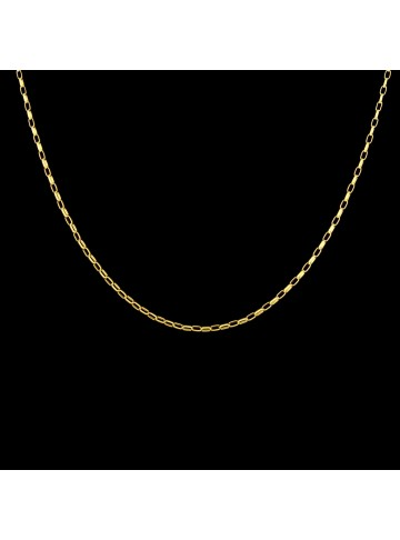 Oval Link Rolo Chain