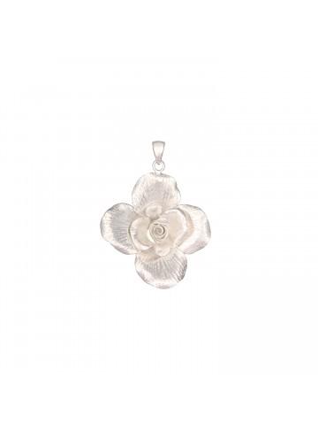 Floral Etched Pendant