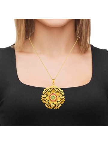 Lotus of Love Pendant