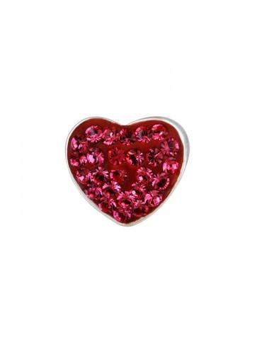 Pink Zircon Heart Pendant