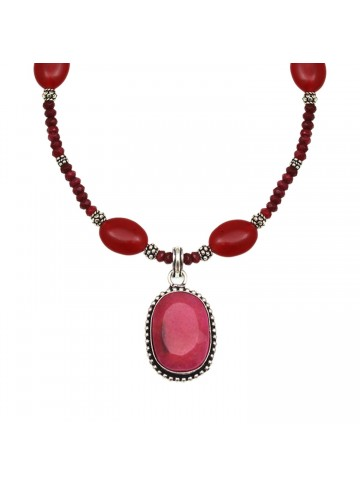 Red Quartz Necklace for Women