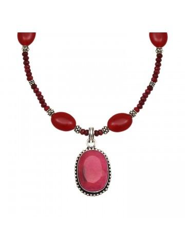 Red Quartz Necklace for Women