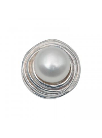 Spiral Pearl Pendant