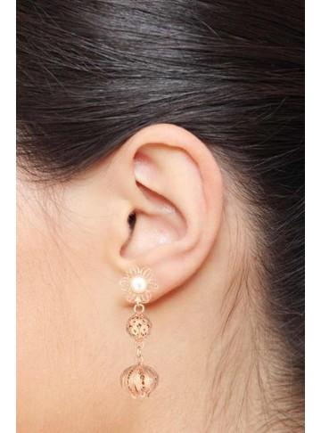 oval drops earrings online