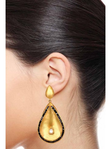 Floating Teardrop Dangling Earrings