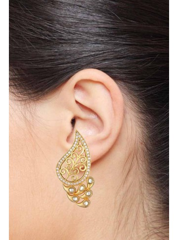 Cleo Style Paisley Studs