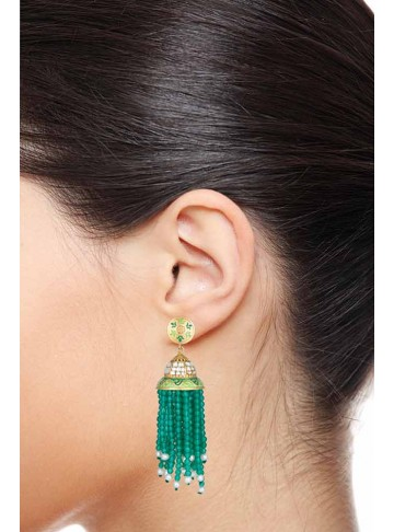 Indian Traditional Wedding Jhumka Jhumki Earrings for Women and Girls