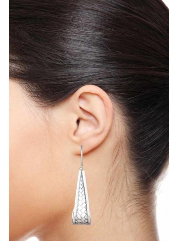 Chatai Long Hoop Earrings