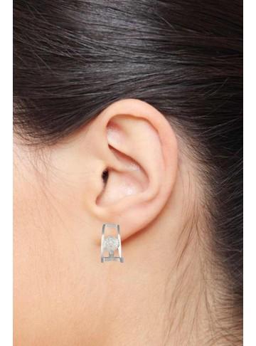 Pristine Zircon Bali Earrings