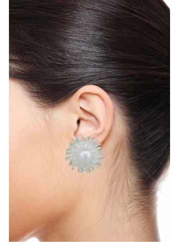 Sun Flower Stud Earrings
