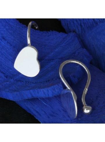Tiny Heart Hug Stud Earrings